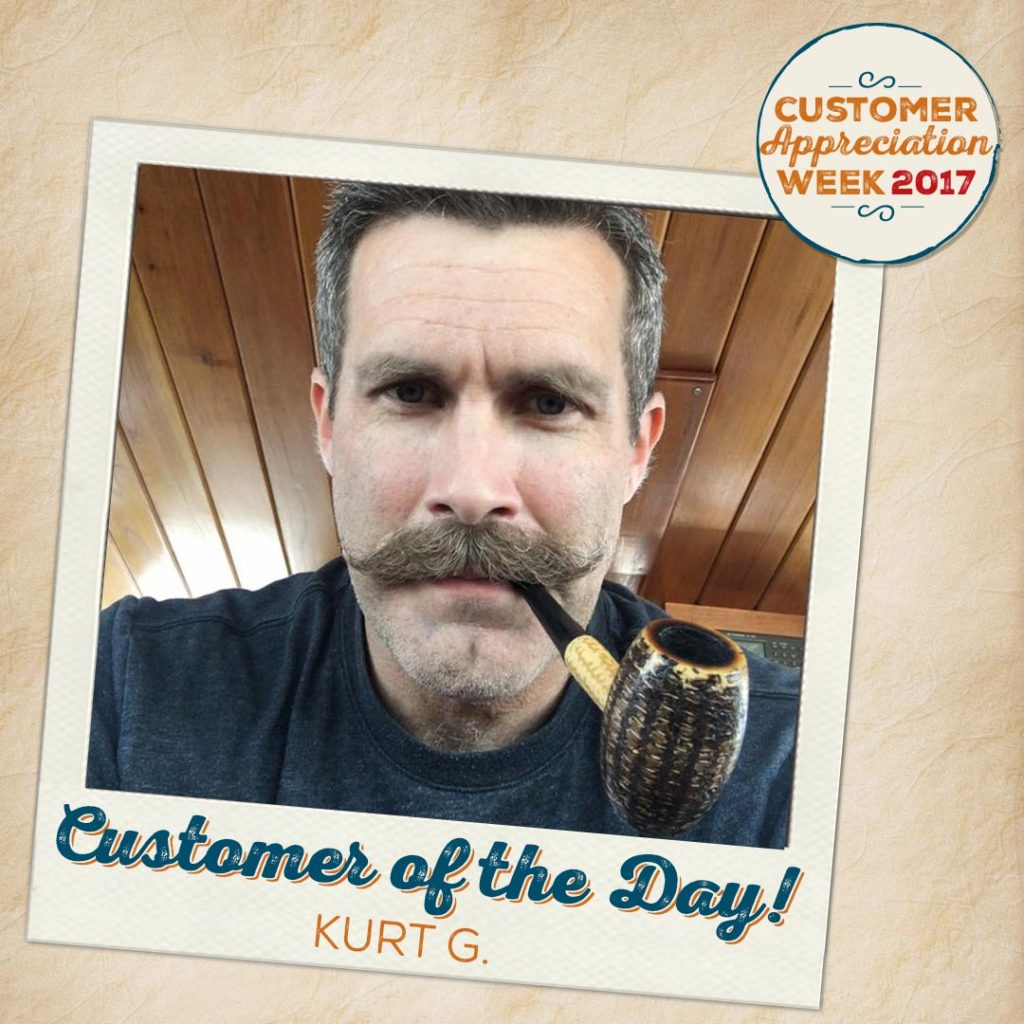 Kurt G. Tops the List During Pipes & Cigars' Customer Appreciation Week