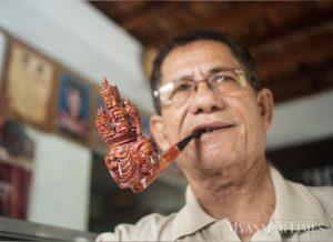The Smoking Ogre of Myanmar