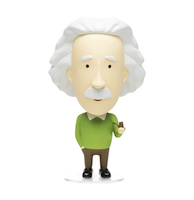 Einstein Action Figure Comes Complete With Pipe