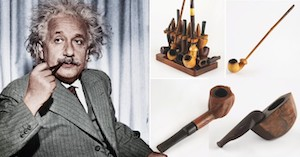 Albert Einstein's Smoking Pipes Expected to Sell for £36,000 at Auction